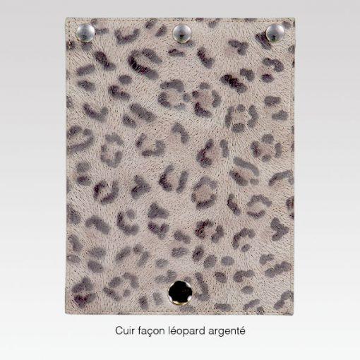 Rabat Leopard Argenté