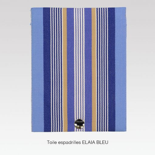 Rabat toile ELÏA bleu