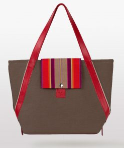 Sac Makile (Marron / Rouge)